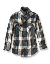 Cooler weather begs for the crisp-yet-casual style of our Johnson Check Colorblock Shirt.