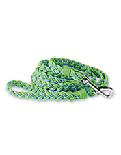 This rugged dog leash is handwoven of recycled fly line—it's a surefire conversation starter.