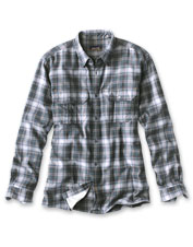 The Clements Mountain Shirt boasts quick-drying performance in timeless plaid.