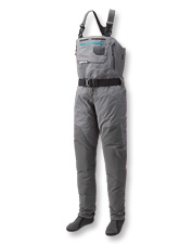 Our women's PRO fishing waders boast breathable layers and an incredible fit.