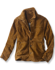Our Rough Out Suede Jacket presents a gritty style that yields luxury upon further inspection.