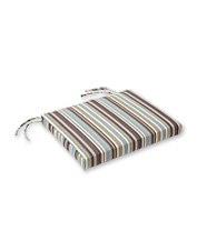 An Adirondack Seat Pad by Sunbrella is a weather-resistant cushion for your favorite seat.