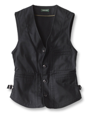 Pair it as you wish: This Cavalry Twill Vest will see you through season after season.