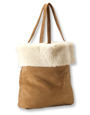 This handcrafted Jackson Shearling Handbag proves that sheepskin isn't only for outerwear.
