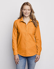 Our perfectly soft Garment Dyed Corduroy Shirt begs to be layered when cool weather blows in.