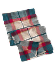 Season after season, this Extra-Fine Merino Scarf makes a soft, warm accent on chilly days.