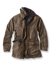 Reach for the Milburn Waxed Cotton Jacket by Barbour the moment chilly weather creeps in.