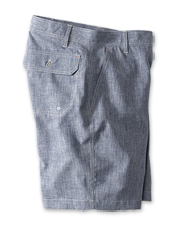 Our Tech Chambray Shorts offer impressive performance in a summer-favorite fabric.