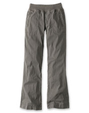 Add these extra-comfortable Explorer Pull-On Pants to your eco-conscious wardrobe.