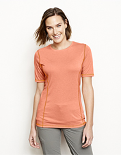 Wear our moisture-wicking drirelease tee to stay cool, dry, and comfortable on every adventure.
