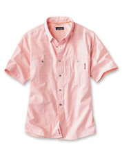 Cooling, moisture-wicking, lightweight: The Flat Creek Short-Sleeved Shirt is ready to go.