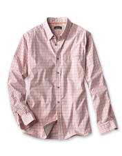 The quick-dry River Bend Shirt falls between casual and polished—but is comfortable above all.