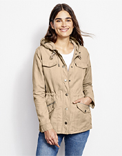 The hooded Ramble Jacket is a seasons-spanning layer in a breathable linen/cotton blend.