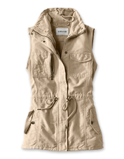 Our utility vest earns seasons-spanning comfort from a breathable linen blend that layers.