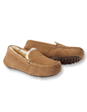 You'll find reasons to stay in just to slip your toes into these cozy Shearling Moccasins.