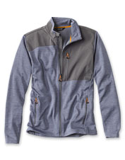 A little warmth, or a lot—layer our midweight, full-zip Johnson Fork Fleece for ideal comfort.