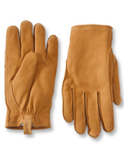 Genuine goatskin pairs with cozy faux shearling in these rugged Equinox Leather Gloves.
