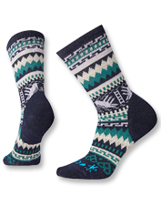 CHUP and Smartwool teamed up to create these cozy, merino wool-blend Hummingbird Crew Socks.