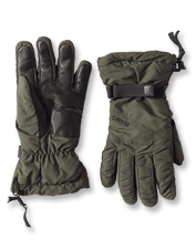 Insulate your hands against frigid temps and icy weather wearing Drift PrimaLoft Gloves.
