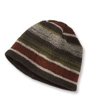 Turn to our cozy Boiled Wool Striped Hat for indulgent warmth on the season's chilliest days.