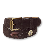 Leather-laced suede takes our Shotshell Belt from essential accessory to sporting necessity.