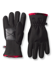 These Softshell Trail Gloves offer water-resistant warmth and touchscreen compatibility.