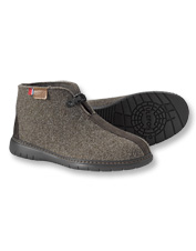 Your winter feet will appreciate the workmanship in Wool Slipper Boots by Topaz of Norway.