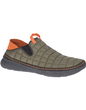 Don't let the featherlight weight fool you—rugged Hut Mocs by Merrell are plenty sturdy.