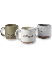 A mug of Joe in this sturdy stoneware coffee cup is plenty of reason to rise and shine.