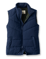 Block foul weather and cold with the baffle-quilted Ruck Gilet by Barbour.