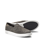You'll love the supple feel and cushioned support of these Litton Suede Sneakers by Trask.