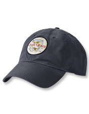 Celebrate your angling passion wherever you go wearing our Early Rise Wax Cotton Ball Cap.