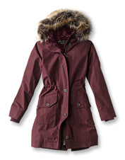 The Tellin Jacket by Barbour is waterproof and cozy, perfect for driving rain or falling snow.