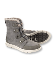 Adventure longer in any weather in the comfort of waterproof Explorer Joan Boots by Sorel.