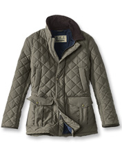 The Langdale Quilted Jacket by Barbour promises equal parts weather-shunning comfort and style.