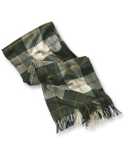 This Modern Country Tartan Scarf by Barbour adds festive style to any snowy winter scene.