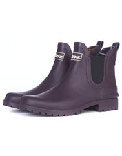 Dreary days get a little brighter when you pull on Wilton Wellington Low-Top Boots by Barbour.
