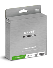 The Hydros Bank Shot Intermediate fly line hands you power and speed.
