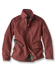 Inaccurate weather reports are no bother when you wear the waterproof Marple Jacket by Barbour.