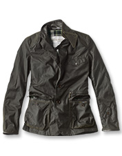 The Icons collection by Barbour revisits the favorite waxed cotton Beacon Sports Jacket.