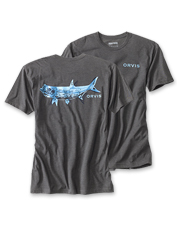 Wear this Tarpon Bones T-Shirt while stalking predator fish—or while planning your next trip.