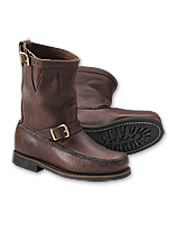 Our brown leather boots are as comfortable as they are durable and distinctive. Made in USA.