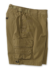These men's cargo shorts are rugged and lightweight.