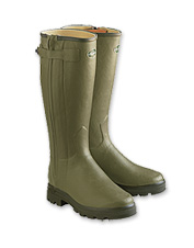 Breathable, waterproof leather-lined Chasseur Boots by Le Chameau are crafted for performance.
