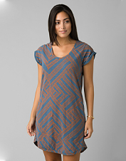 The pocketed Bon Vivante Dress from prAna offers supreme comfort in an organic cotton blend.
