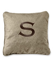 Our sturdy and attractive Personalized Throw Pillow is washable and dog-friendly.