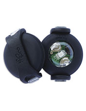 Attach these LED safety lights to your dog's collar to improve his nighttime visibility.