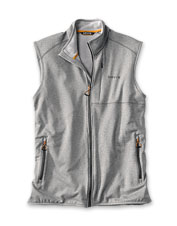 Performance fleece traps heat to keep you warm and comfortable in our Horseshoe Hills Vest.