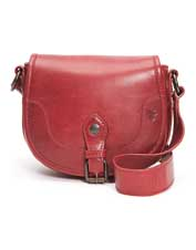 The less-is-more Melissa Button Saddle Bag from Frye is plenty big on style and utility.