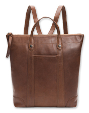 There's plenty of room to carry the necessities within the smart Melissa Zip Backpack by Frye.